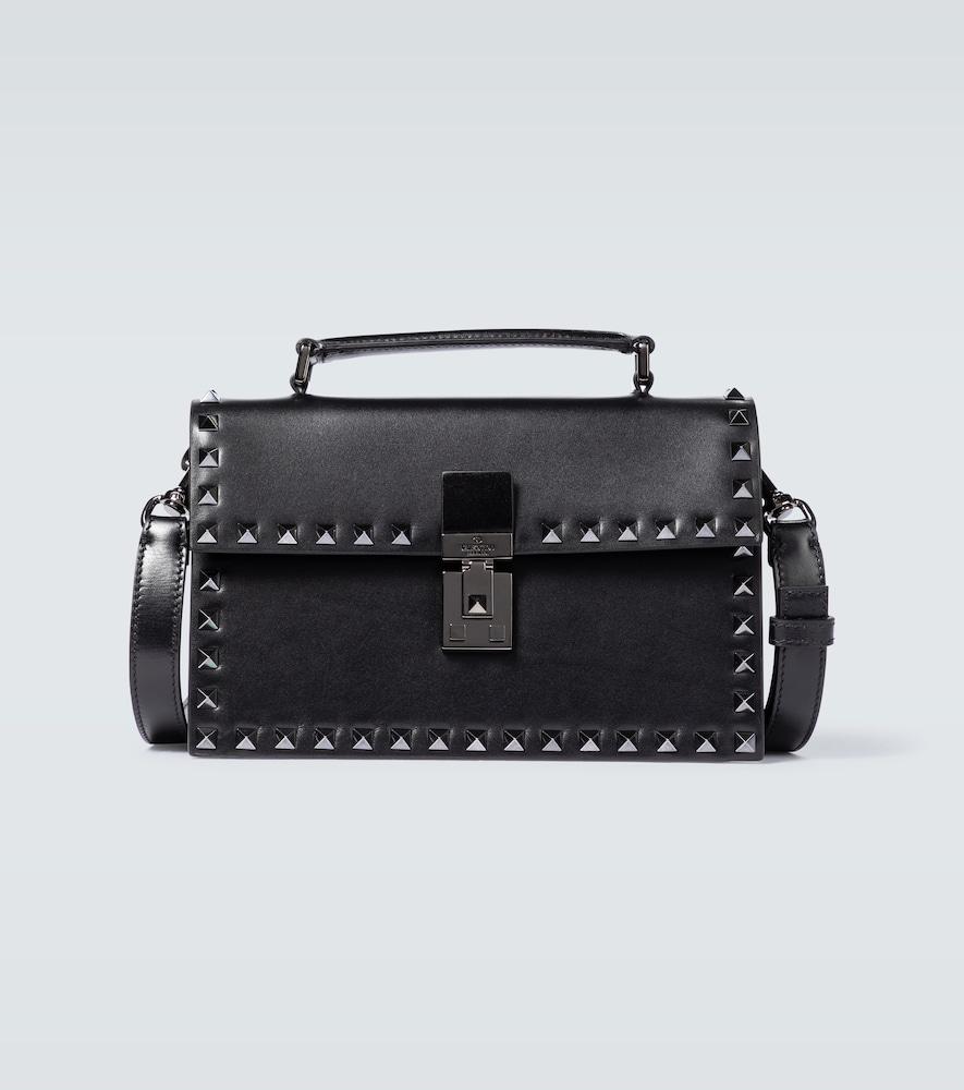 Valentino Garavani Rockstud leather box bag