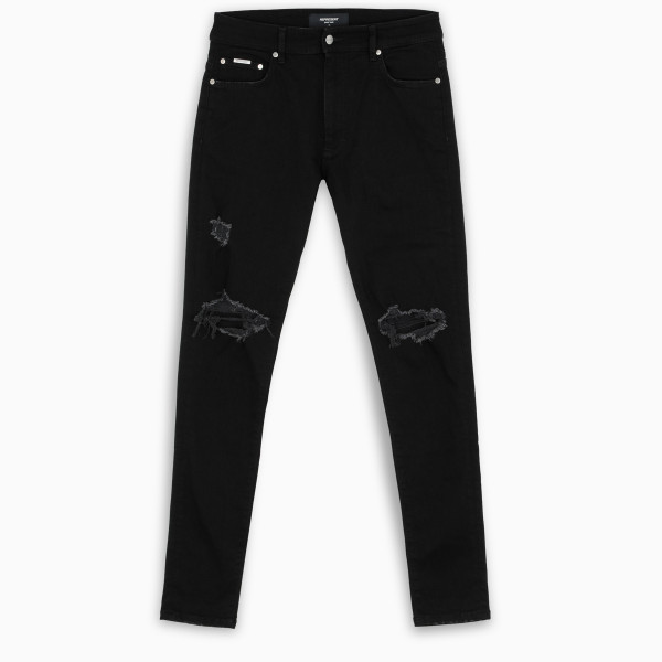 REPRESENT Black Destroyer jeans