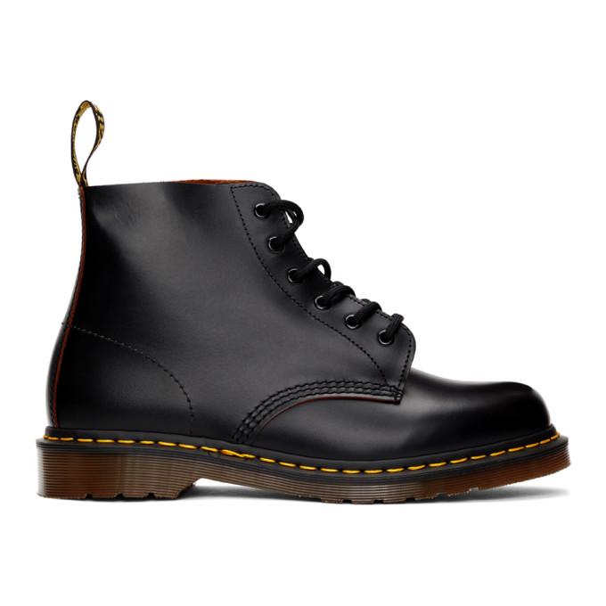 Dr. Martens 黑色 Vintage 101 英产踝靴