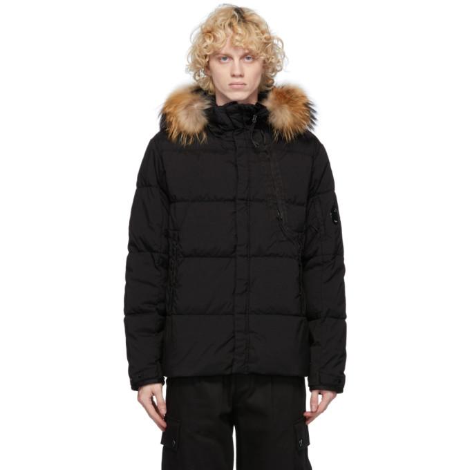 C.P. Company 黑色 Taylon 羽绒夹克