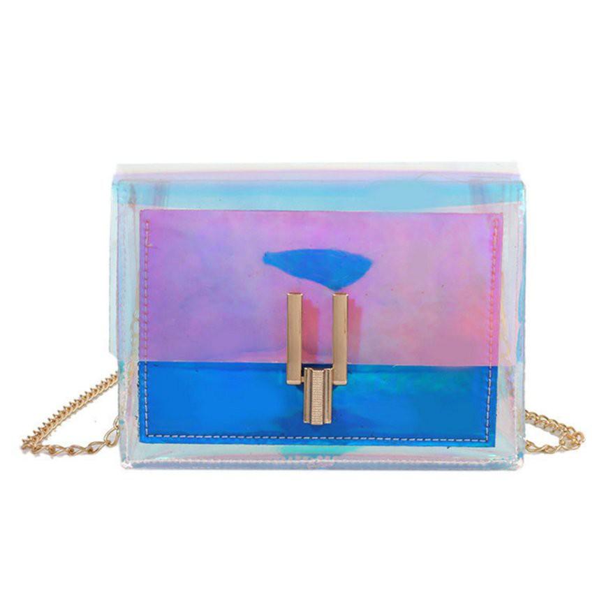 小包包小方包女手機錢包果凍鏈手提包 潮可 新款優惠中 上新
