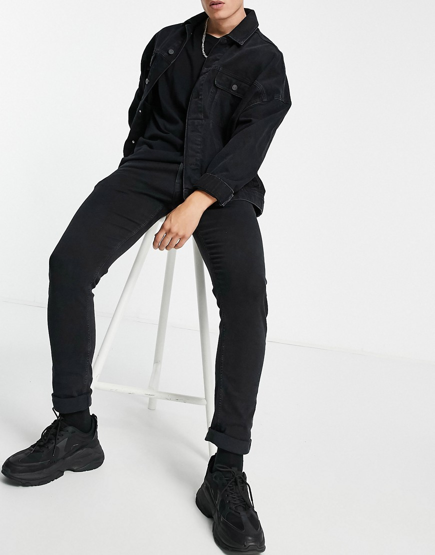 Replay Jondrill skinny fit jeans in black