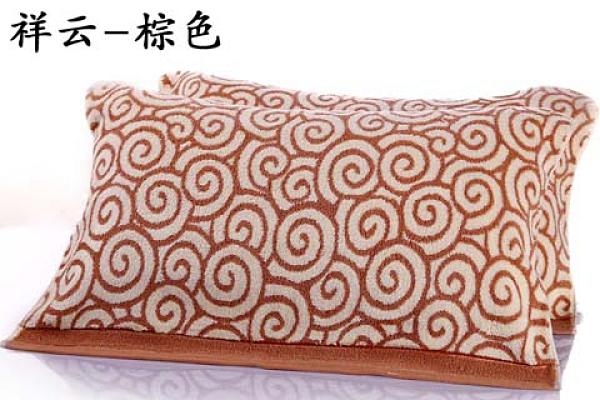純棉枕巾一對裝加厚
