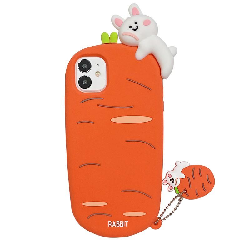 最新上架-蘿卜趴趴熊適用于華為硅膠手機殼P30pro卡通nova5可愛p30保護套6se防摔P40pro全包個性軟殼
