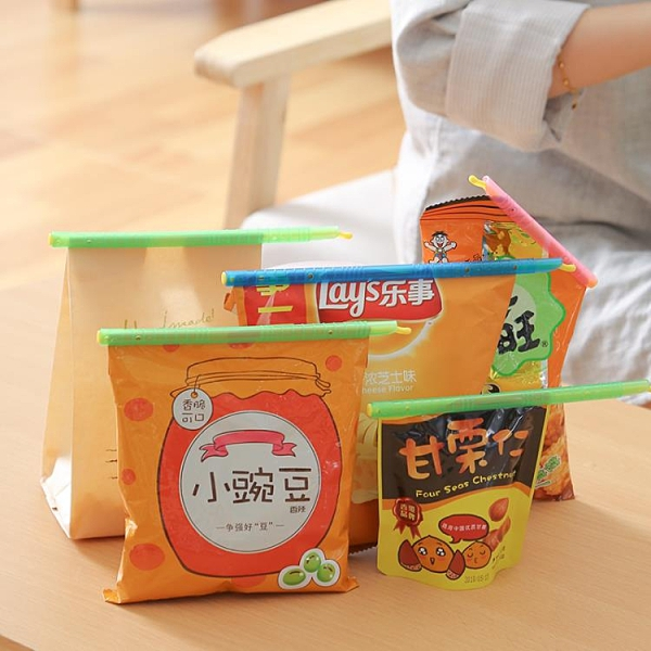密封夾封口棒食品零食袋子條