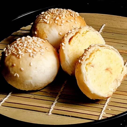 【朱記素餅】小綠豆椪 /12粒 全素