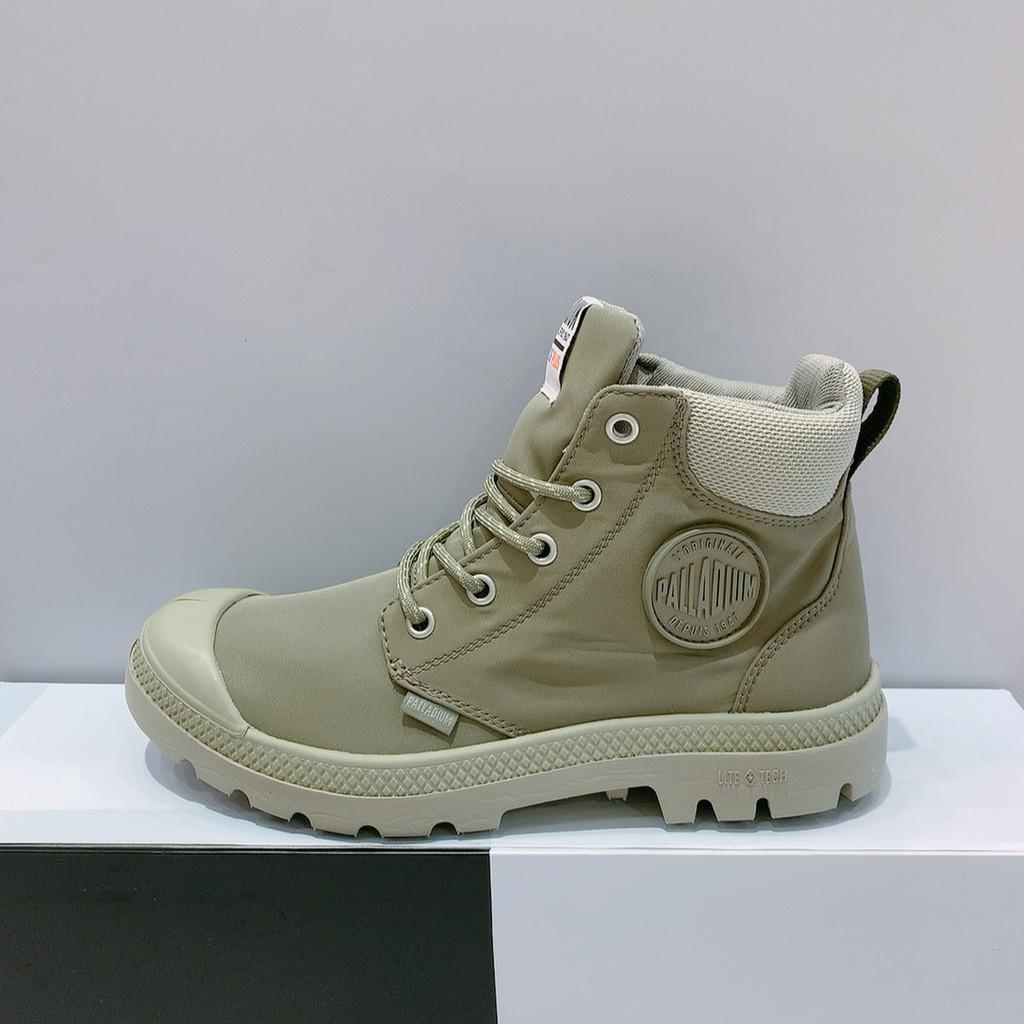 PALLADIUM PAMPA LITE+ CUFF WP 男女款 淺綠色 防水 輕量 雨靴 休閒靴 76259-339
