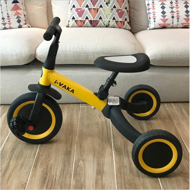限時免運高品質 多功能四合一 兒童學步車 兒童平衡車 滑步車 兒童腳踏車 小朋友滑步車 三輪車