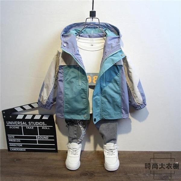 童裝男童外套春秋款兒童外衣洋氣