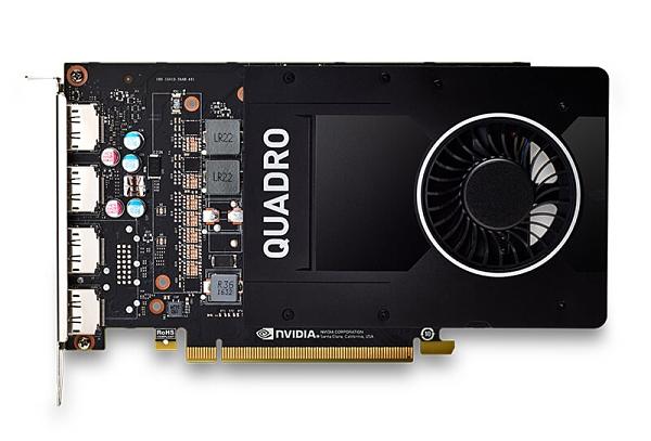 麗臺 NVIDIA Quadro P2200 5GB GDDR5x 160bit PCI-E工作站繪圖卡
