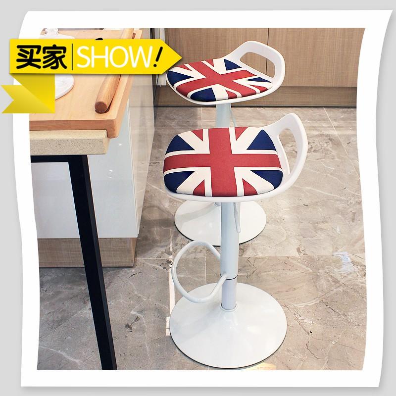 吧臺椅升降椅子 酒吧桌椅前臺現代簡約凳子家用高吧凳 吧椅高腳凳