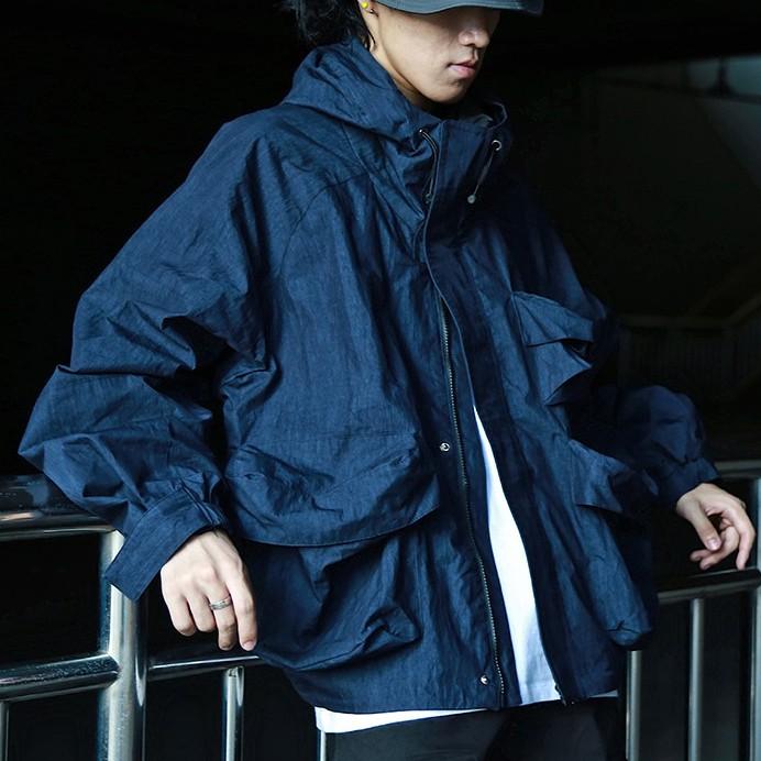 【FADE.MEET】連帽多袋外套