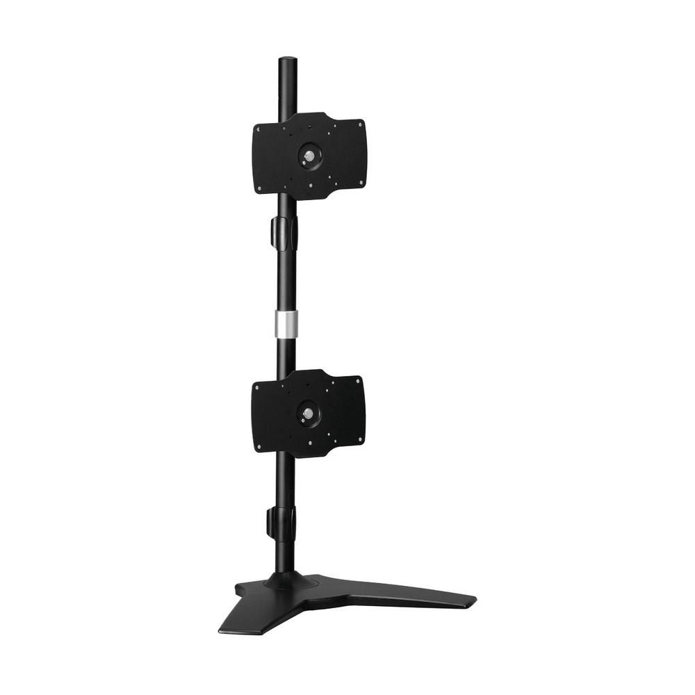【HE】桌上型上下雙螢幕架(H042TS)-適用21~40吋