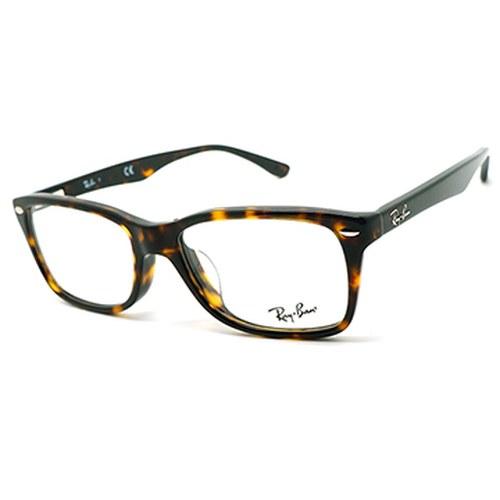【RayBan 雷朋】光學眼鏡鏡框 RB5228F 2012 方框眼鏡 玳瑁 53mm
