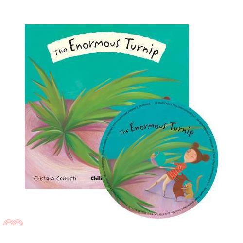 The Enormous Turnip (1平裝+1CD)【三民網路書店】(有聲書)[75折]