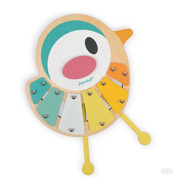 【法國Janod】寶寶異想世界-寶寶鐵琴 / 樂器