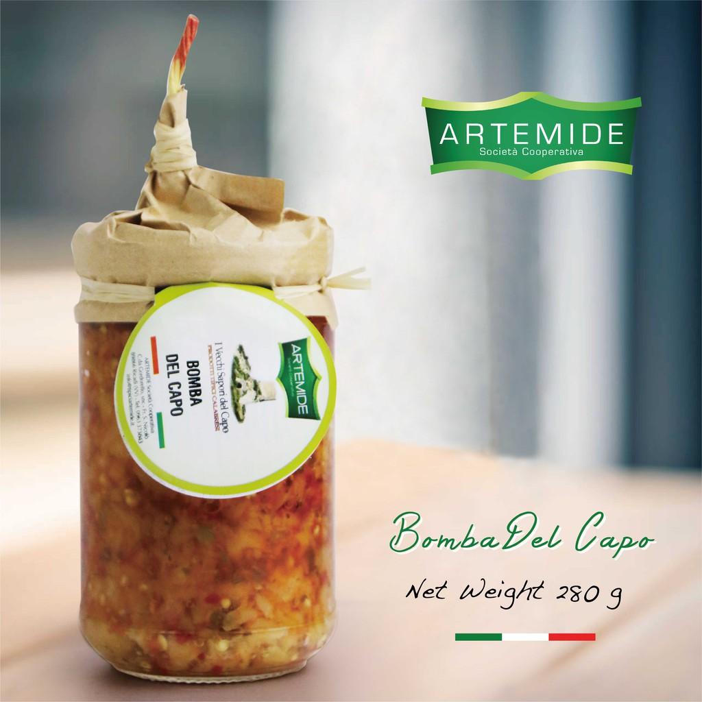 ARTEMIDE - Bomba Del Capo / 辣蘑菇海角炸彈抹醬 280g