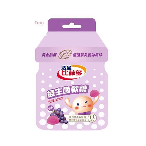 比菲多軟糖(葡萄) 30g/包【愛買】