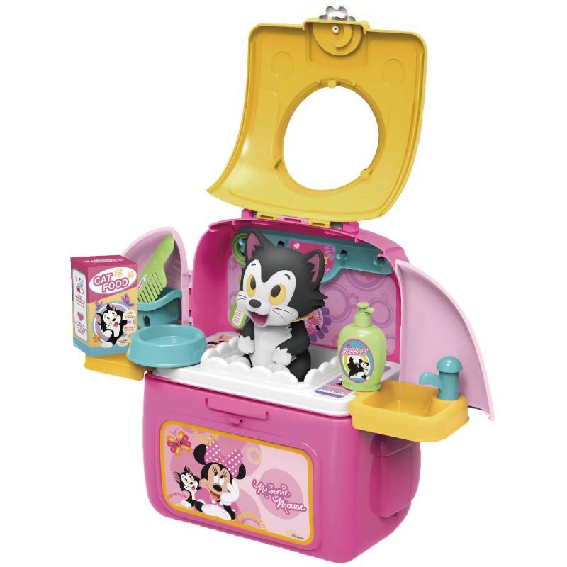 迪士尼Disney 米妮寵物背包 玩具反斗城