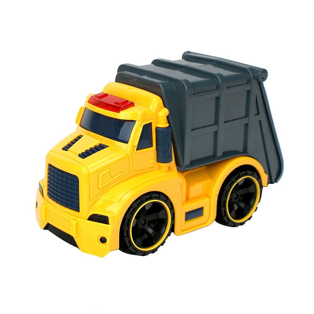 Amuzinc酷比樂 兒童玩具 磨輪動力車 聲光慣性工程環保車 6633-3 【酷比樂】