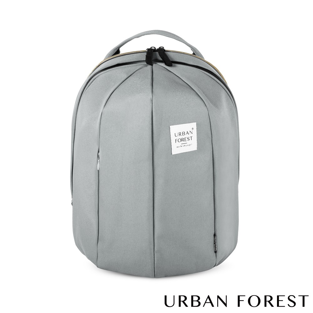 URBAN FOREST都市之森 甲蟲-可擴充後背包/雙肩包 (L號) 霜灰