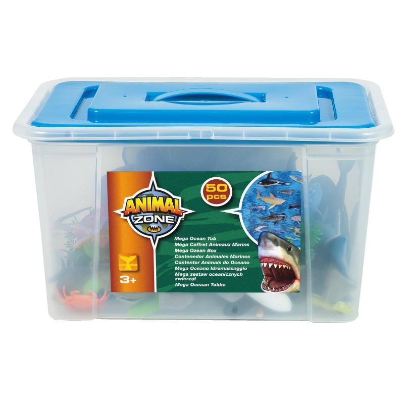 Animal Zone動物叢林 海洋生物組 玩具反斗城
