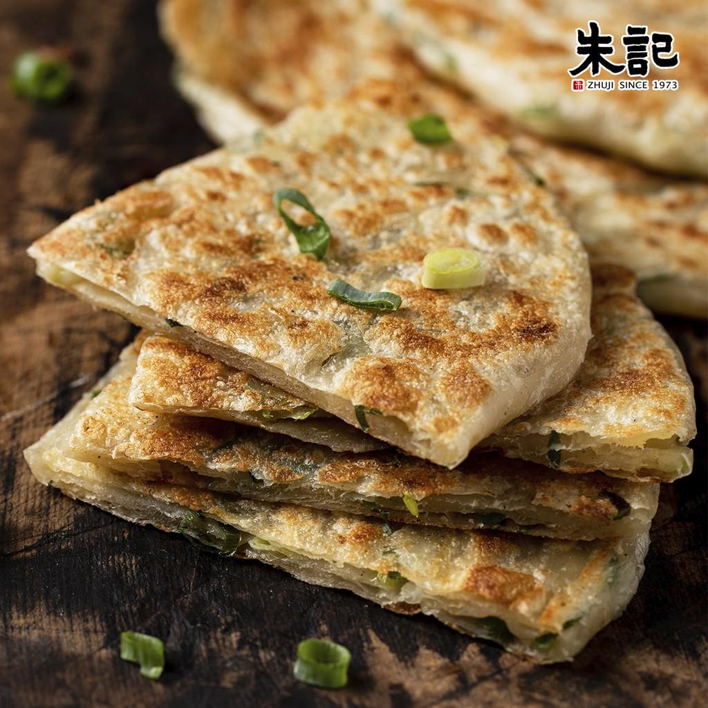 【朱記餡餅粥】招牌手工蔥油餅(5片)