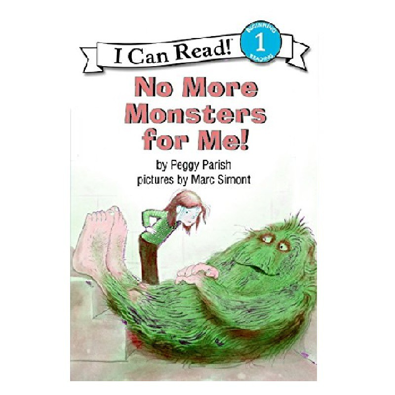 An I Can Read Book Level 1: No More Monsters for Me 入門讀本