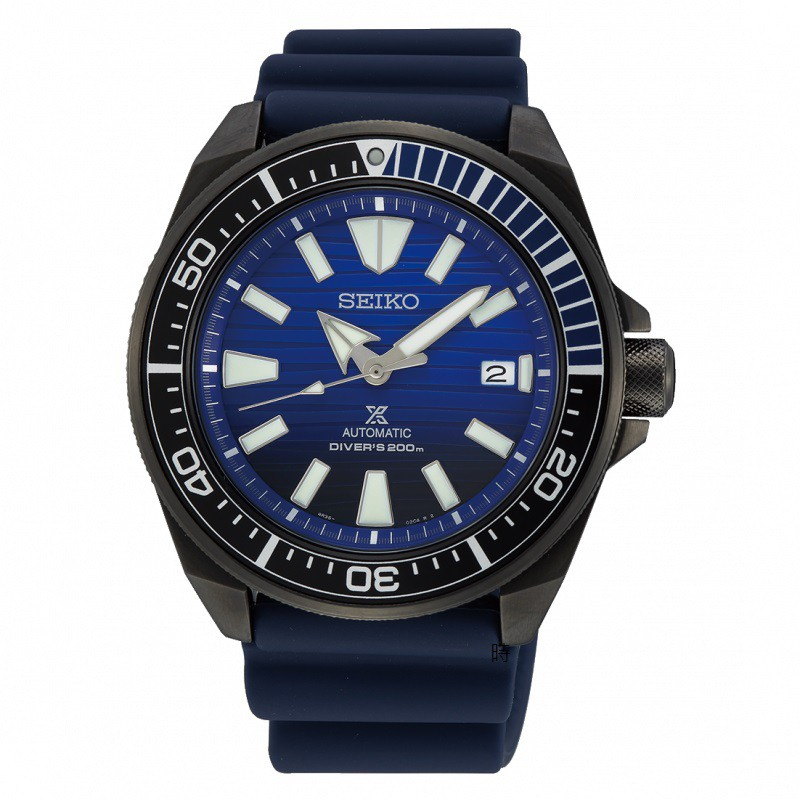 SEIKO 精工 PROSPEX 愛海洋 機械潛水錶/4R35-01X0A / SRPD09J1
