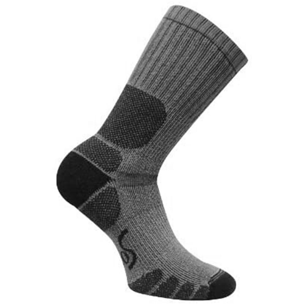 [EURO SOCK] 0125 Trekking Crew Socks 健行襪 銀色 / L《長毛象休閒旅遊名店》