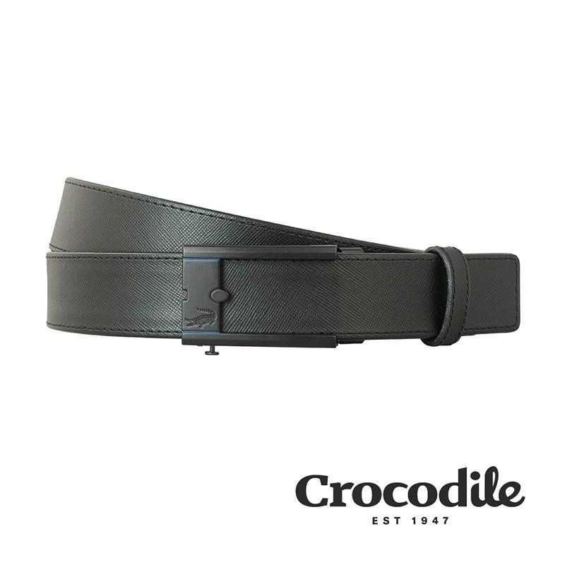 Crocodile 真皮皮帶 自動穿扣皮帶 0101-25009-01