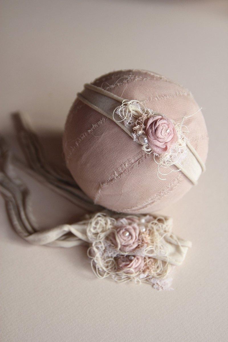 嬰兒頭帶 寶寶頭帶 嬰兒頭飾 頭飾 彌月禮物 彌月頭飾 百日宴頭飾