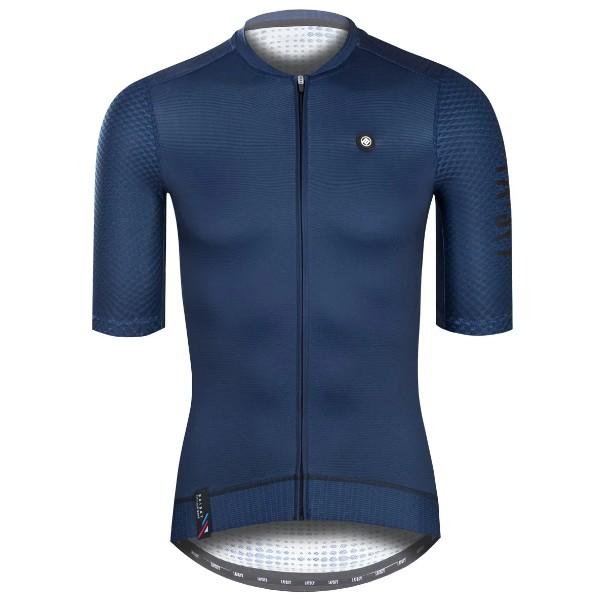BAISKY百士奇夏季自行車衣男款短車衣 潔淨 深藍