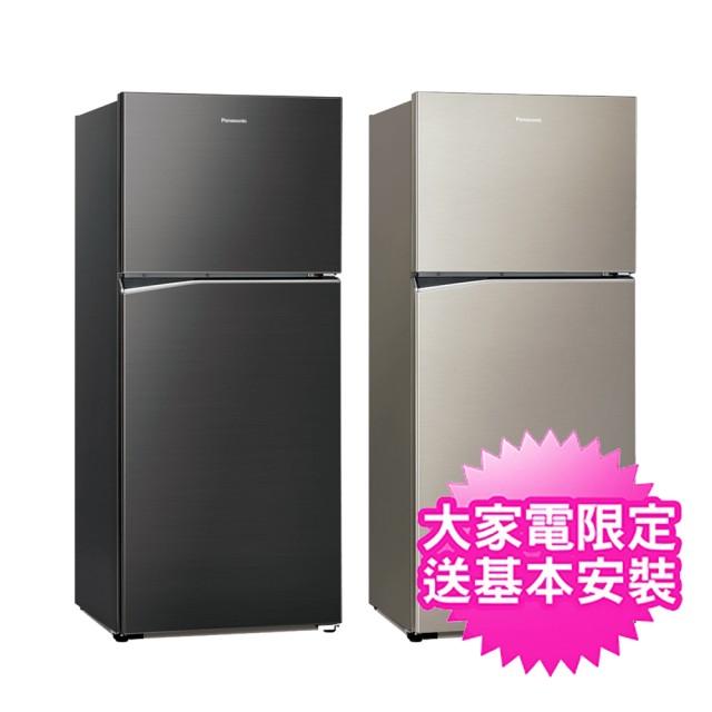 【Panasonic 國際牌】422公升變頻鋼板雙門冰箱(NR-B420TV)  2/27前買就贈多功能雙面砧板+6吋陶瓷刀