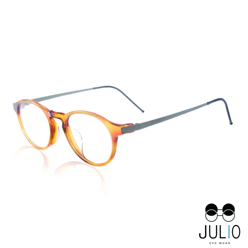 JULIO 光學眼鏡 BERLIN BRN 極致輕薄完美工藝 - 金橘眼鏡
