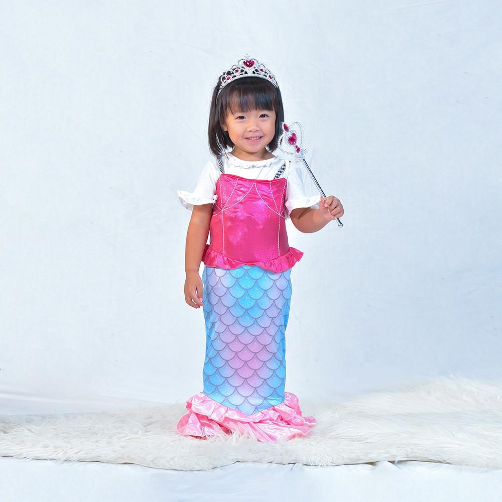 Angeljiejie-萬聖節童裝系列-美人魚公主120cm