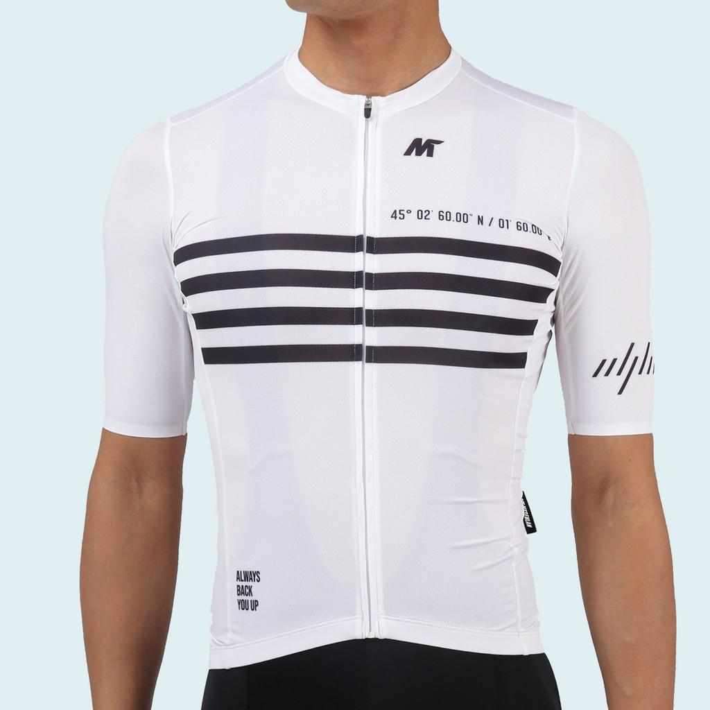 【VM.Plus】MSL里奧短車衣-白(男) 短車衣 男款 自行車車衣 騎行服