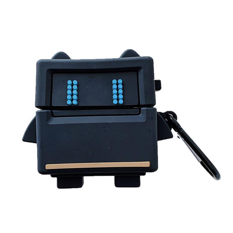 耳機套 立體卡通游戲機器人AriPods保護套1/2/Pro硅膠個性創意女軟潮軟殼