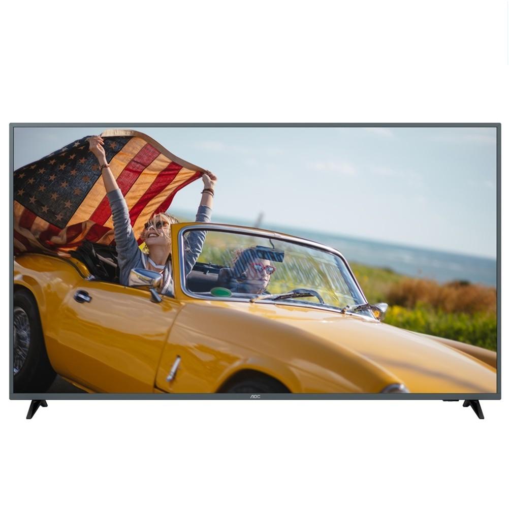 【美國AOC】70吋4K HDR智慧聯網液晶顯示器+視訊盒70U6195 (僅送桃園以北)