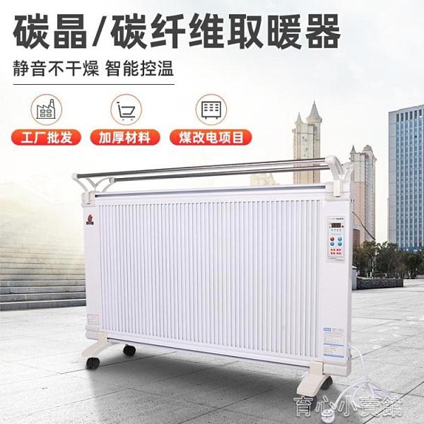 取暖器 煤改電碳纖維電暖器 壁掛式電暖氣片 家用變頻碳晶取暖器YYJ 新年特惠