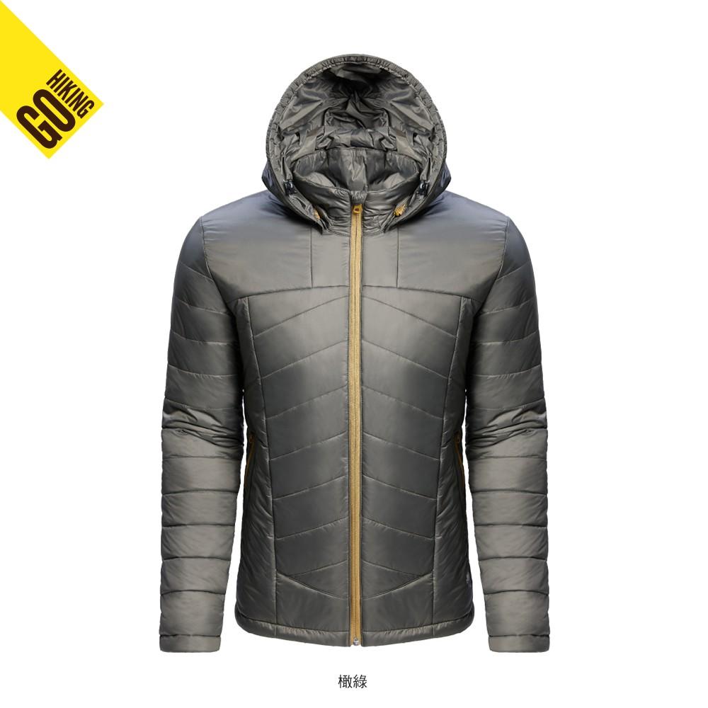 【GOHIKING】男PRIMALOFT保暖外套[橄綠色]秋冬 男外套 保暖外套 | GH172MJ20148