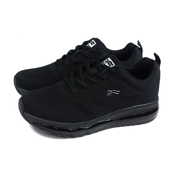 G.P (GOLD PIGEON) 阿亮代言 休閒運動鞋 黑色 針織 男鞋 P6946M-10 no469