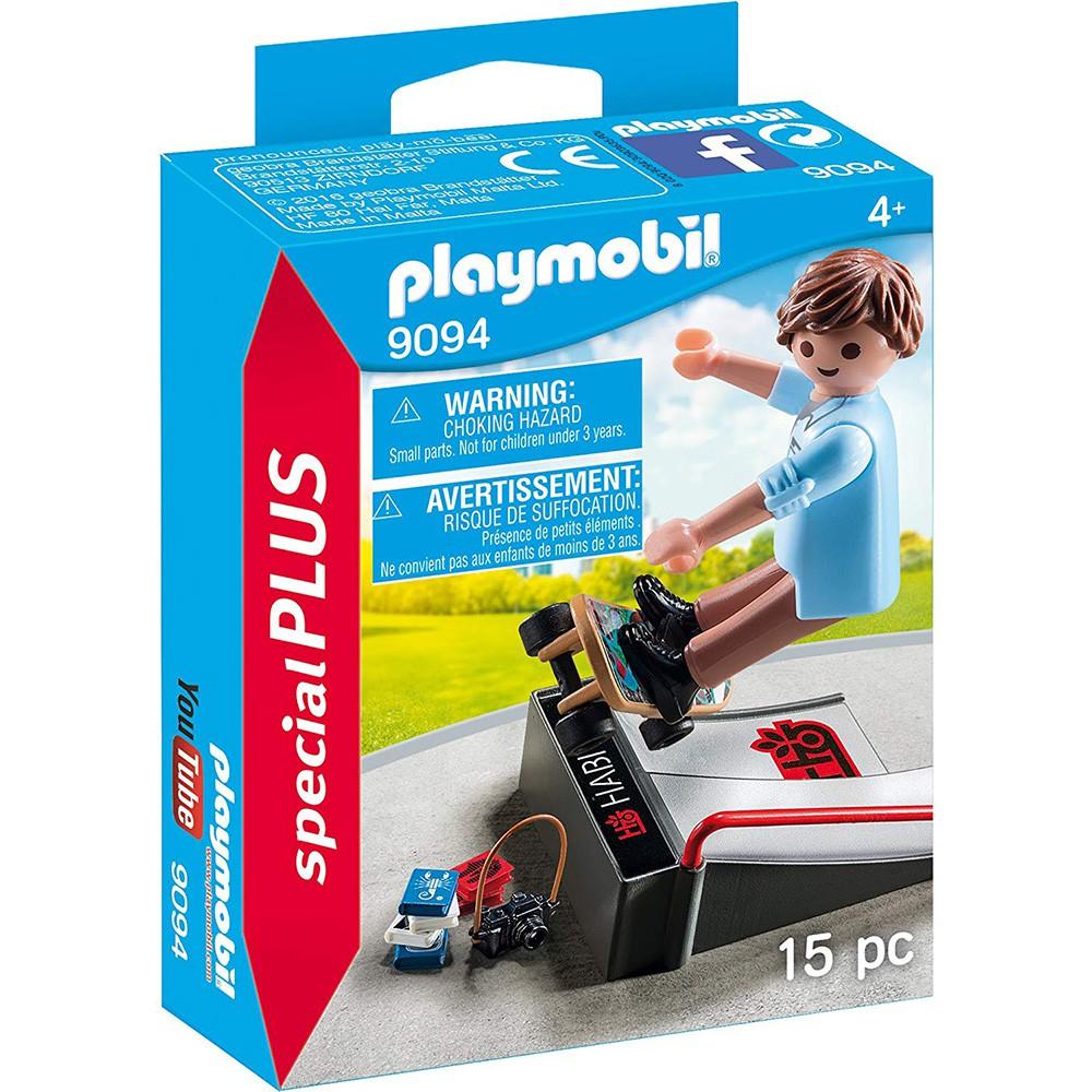 playmobil special plus 摩比人 滑板男孩