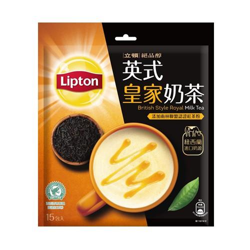 立頓絕品醇英式皇家奶茶17.5Gx15【愛買】