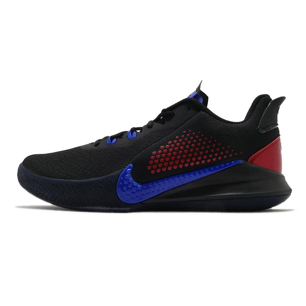 NIKE MAMBA FURY EP 黑藍 男 運動 籃球鞋 CK2088004