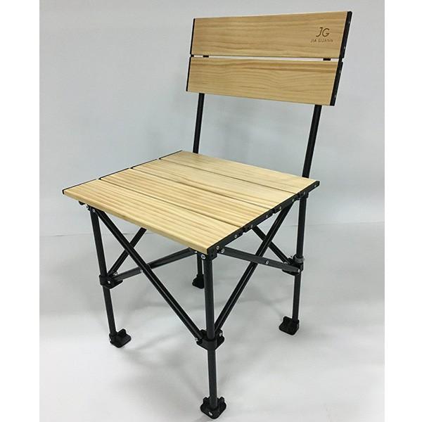 JIA GUANN JG-C001 實木折疊收納椅-單人款 台灣製 折疊椅 野外椅 露營椅 休閒椅《台南悠活運動家》