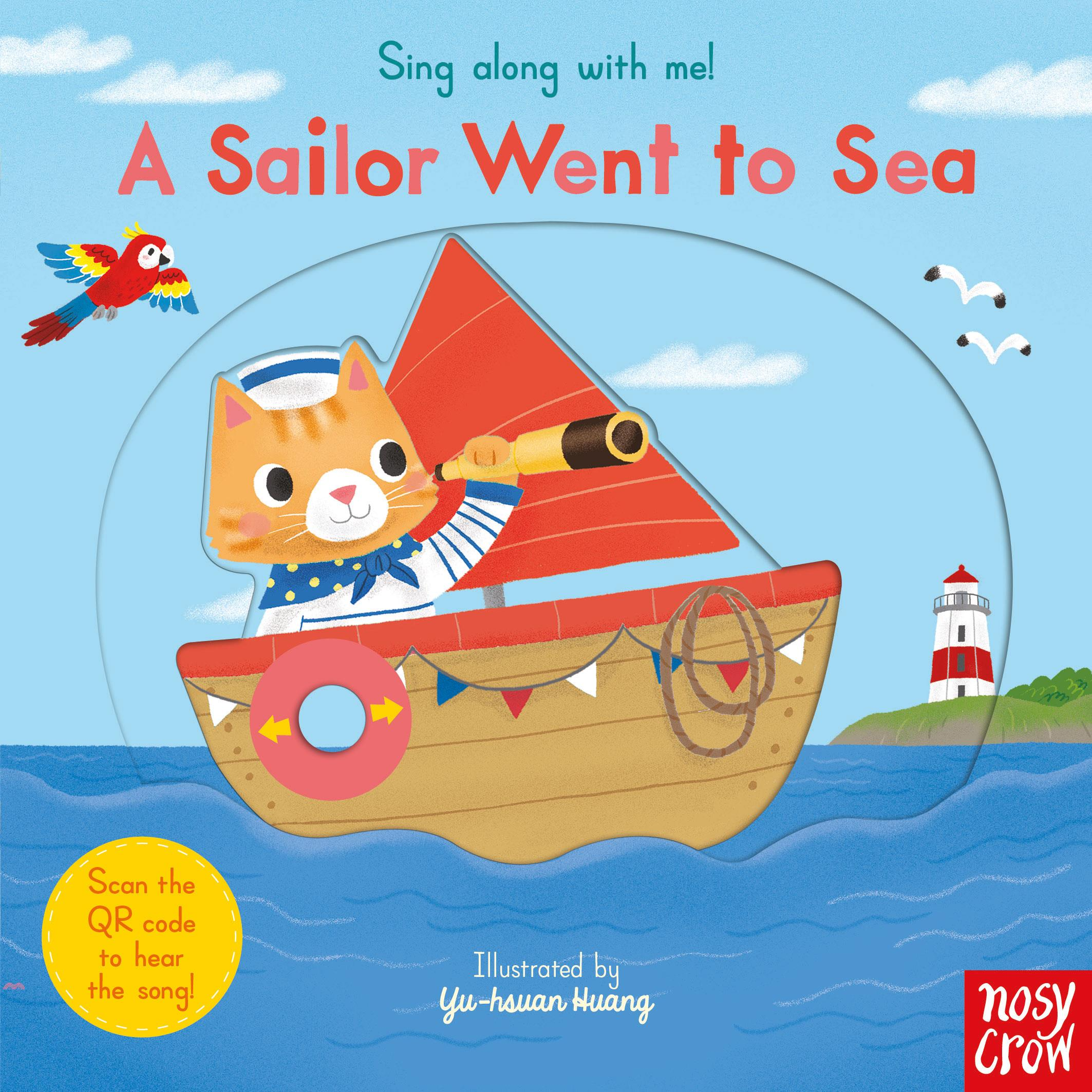 Sing Along With Me A Sailor Went to Sea【三民網路書店】[66折]