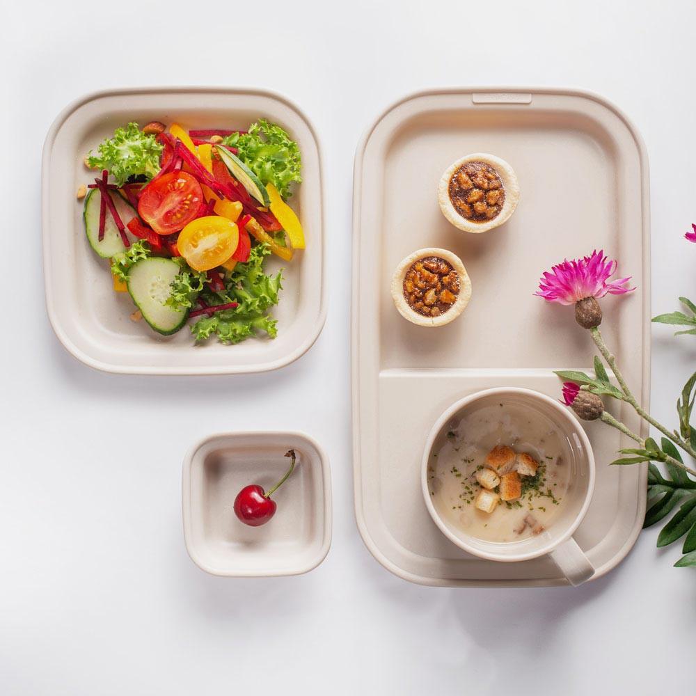 【韓國nineware】簡約早午餐套裝4件組 - 共4色《WUZ屋子》