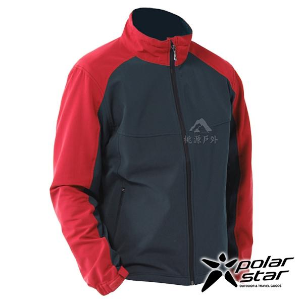 【PolarStar】中性 內刷毛保暖外套『紅』P20207 上衣 休閒 戶外 登山 冬季 保暖 禦寒 防風