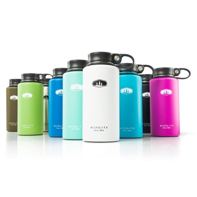 GSI 多色可選 輕量不鏽鋼真空保溫瓶 1L 1000ml 附提環 保溫保冷 保溫杯 6715 67161 綠野山房